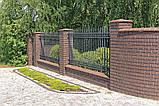 Клинкерная крышка на забор KingKlinker Коричневый (03) 445х585х106мм, фото 5