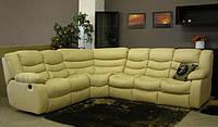 Кожаная мебель угловая, угловой диван regan,шкіра релакс