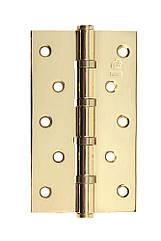 Петля стальная Gavroche 125x75x2,5 B4 РВ - Золото