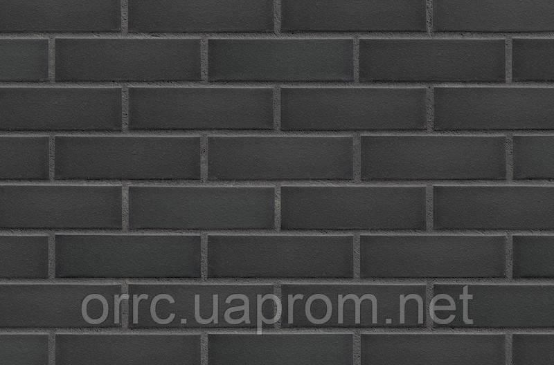 Плитка клинкерная облицовочная King Klinker (26) Черный камень 240х71х14