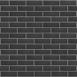 Плитка клинкерная облицовочная King Klinker (26) Черный камень 240х71х14, фото 6