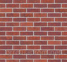 Клинкерная фасадная плитка Deep purple (HF08), 240x71x10 мм, фото 3
