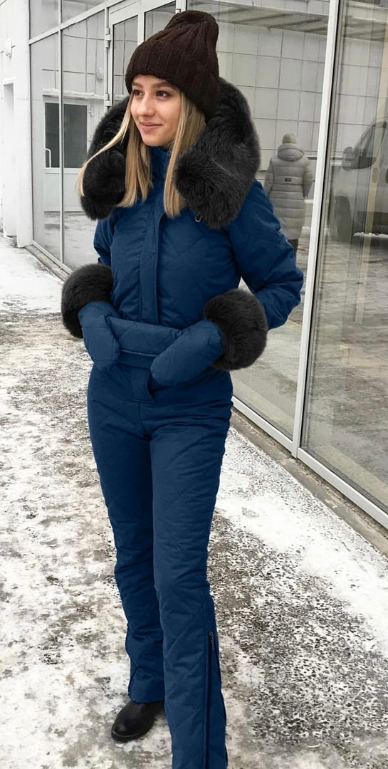Лыжный женский костюм ин223