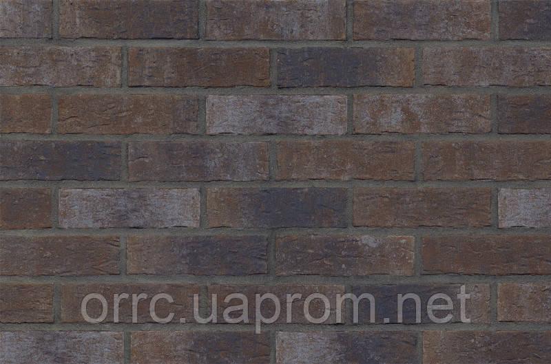 Клінкерна фасадна плитка Dark fortress (HF19), 240x71x10 мм