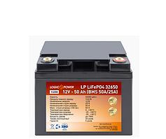 Тяговый Аккумулятор для лодки литиевый  LiFePO4 12V - 50 Ah (BMS 50A/25A), литий железо-фосфатный