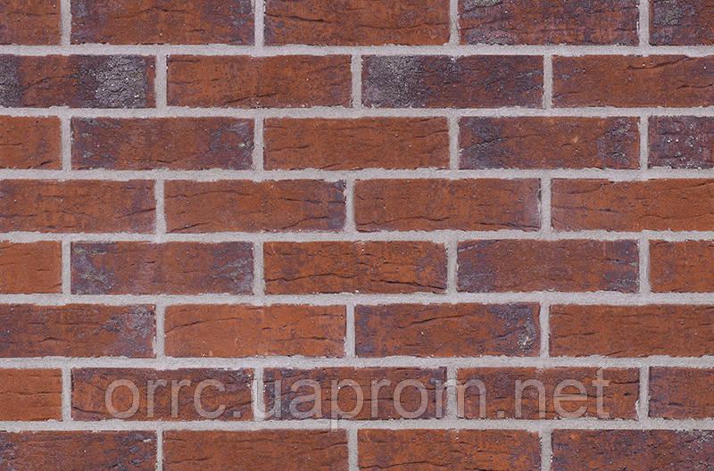 Клинкерная фасадная плитка Red hot (HF33), 240x71x10 мм