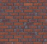 Клинкерная фасадная плитка Red hot (HF33), 240x71x10 мм, фото 6