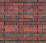 Клинкерная фасадная плитка Red square (HF39), 240x71x10 мм, фото 4