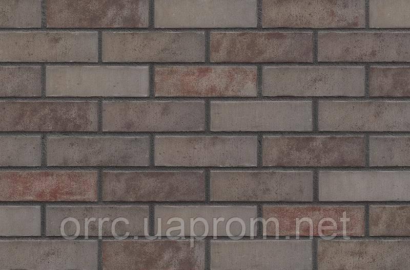 Клинкерная фасадная плитка Grey Satin (HF49), 240x71x14 мм