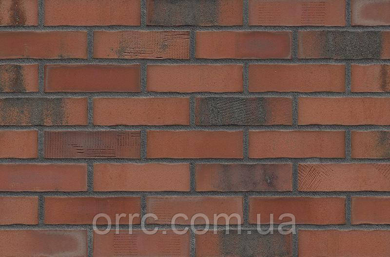 Клинкерная фасадная плитка Old Factory (HF50), 240x71x14 мм