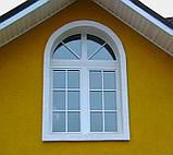 Двухчастное поворотно-откидное окно Брокельман 5 кам 1300*1400, фото 5