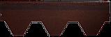 Битумная черепица RUFLEX Sota Темный шоколад, 3м2, фото 3