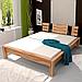 Ліжко дерев'яне двоспальне B100, фото 3