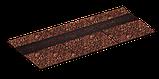 Коньково-карнизная черепица Ruflex Терракота, 16м/20м, фото 3