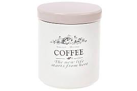 Банка керамічна для зберігання Cofee (кава) 750мл Sweet home