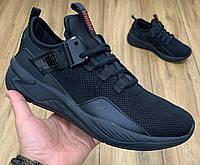 Кроссовки Puma ALL BLACK черные реплика