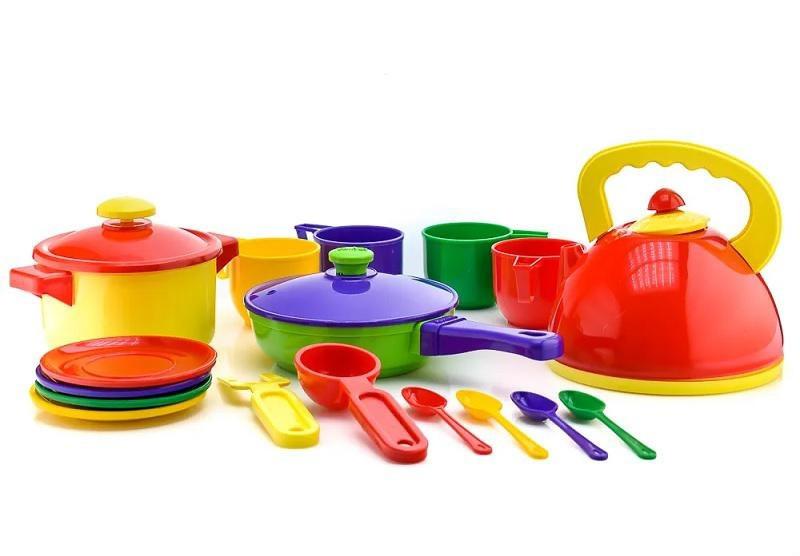 Набор посуды (17 пр.) 71009