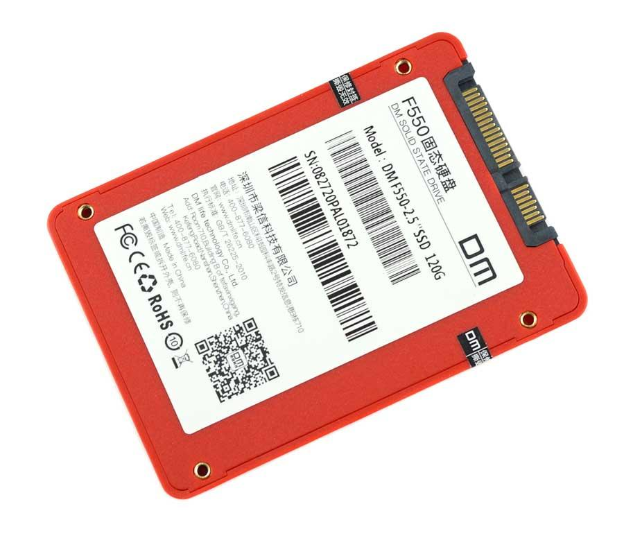 фото диск ssd 120gb red