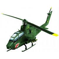 Сборная модель Умная бумага Вертолет Cobra (зеленый) серии Военная техника (190-01)