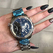 Часы мужские наручные Tag Heuer Grand Carrera Calibre 36 RS Steel Silver / реплика ААА класс/ видеообзор, фото 2