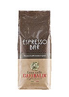 Кофе в зернах Garibaldi Espresso Bar 1 кг, крепкий вкус с кислинкой для кофемашин и кофеварок Арабика,робуста
