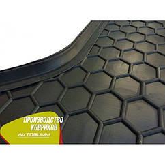 Авто килимок в багажник Fiat Doblo / Фіат Добло 2000+ (з решіткою)