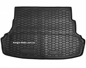 Авто килимок в багажник Hyundai Accent(Solaris) / Хюндай Акцент(Соляріс) (RB) 2011- (Не складна спинка )