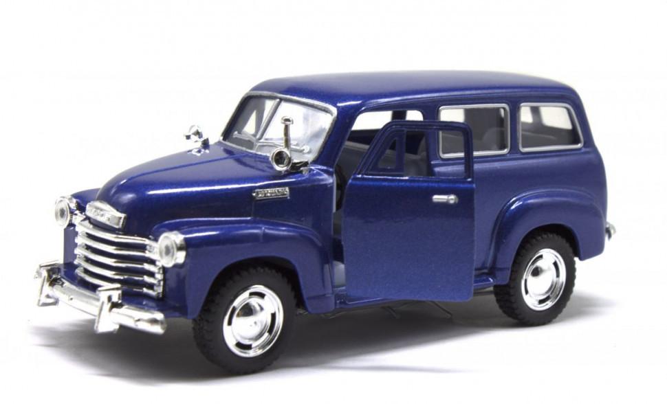 Модель легкова KT5006W CHEVROLET SUBURBAN CARRYALL 1950 (Синий)