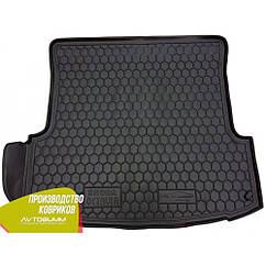 М'який поліуретановий килимок в багажник Skoda Octavia / Шкода Октавія A4 1996-2010 Ліфтбек / Liftback