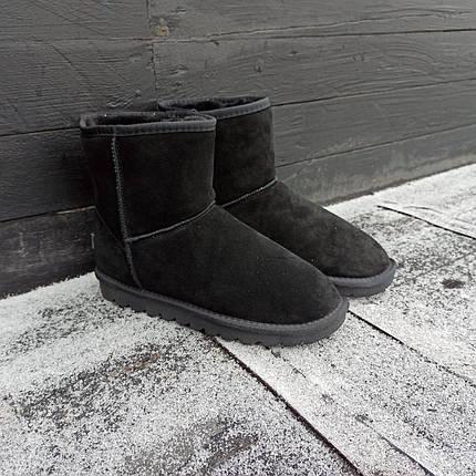 41 размер Угги UGG ботинки ВЫСОКИЕ мужские мокасины зимние теплые на меху замша натуральная, фото 2