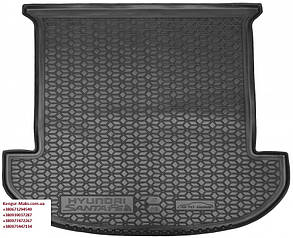 Авто килимок в багажник Hyundai Santa Fe / Хюндай Санта ФЕ 2018 - 7 місць