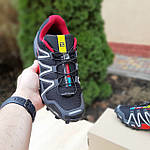 Чоловічі кросівки Salomon Speedcross 3 (чорно-червоні) 10325, фото 3