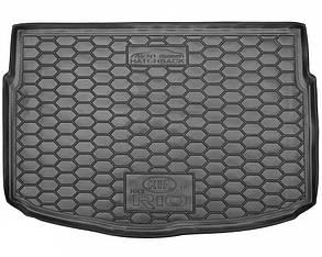 Авто килимок в багажник Kia Rio 2017+ / КІА РІО - Hatchback (нижня полиця)