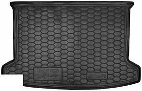 Авто килимок в багажник Kia Rio / КІА РІО 2017 - Hatchback (рос. збірка)