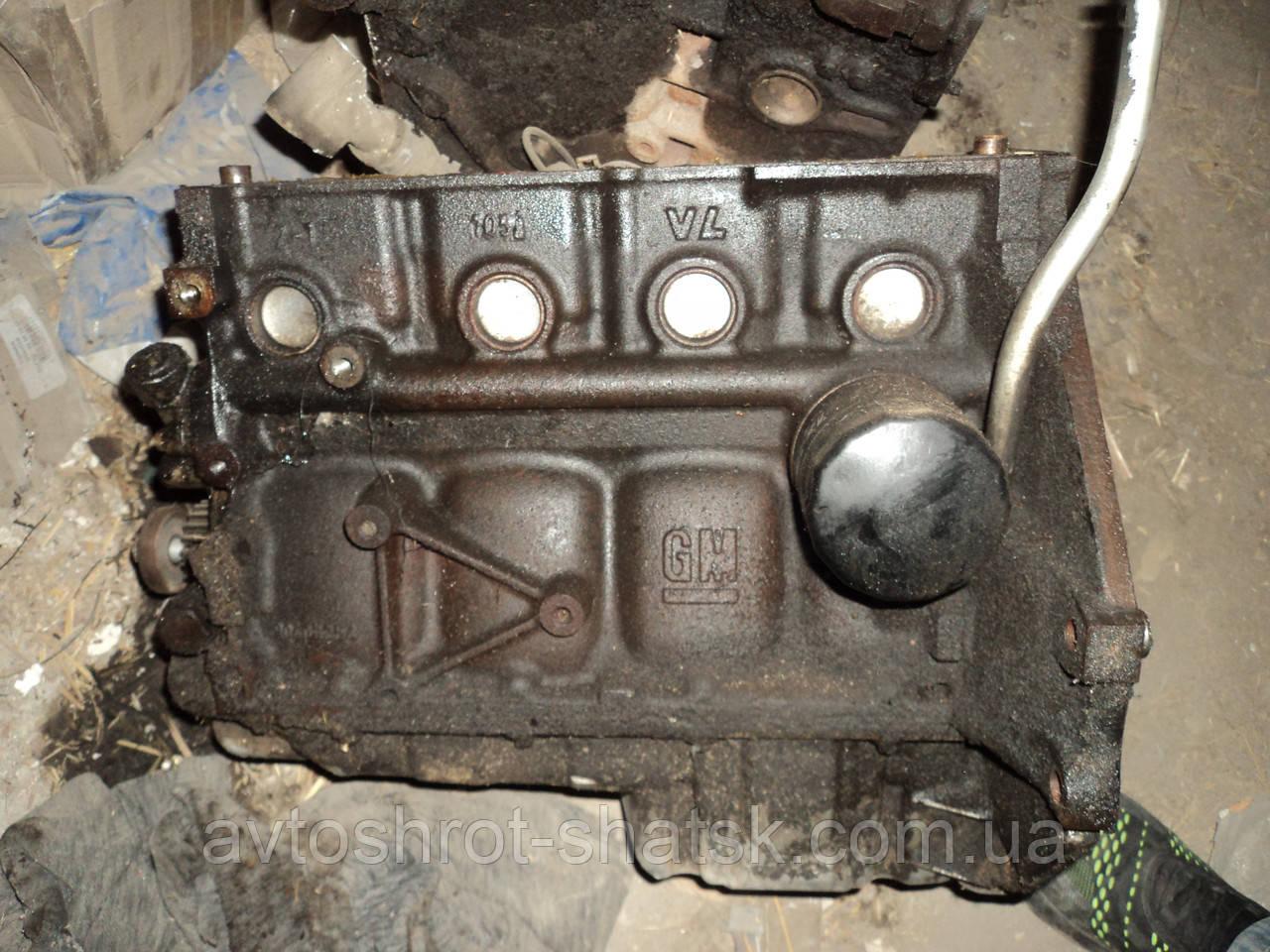 Б/У блок двигателя опель зафира а 1.6 16 кл