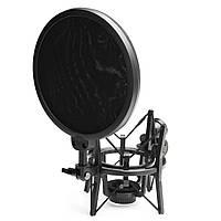 Мікрофон підвісу стріли нижній кронштейн підставки кріплення амортизатора для студії Прямого ефіру