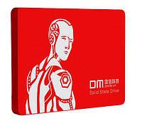 """120GB SSD диск 2.5"""" SATA III (120 ГБ) RED - накопительный (жесткий) DMF550/120G DM F550 твердотельный диск"""