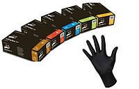 Защитные нитриловые перчатки Nitrylex black | Размер XS, S, M, L