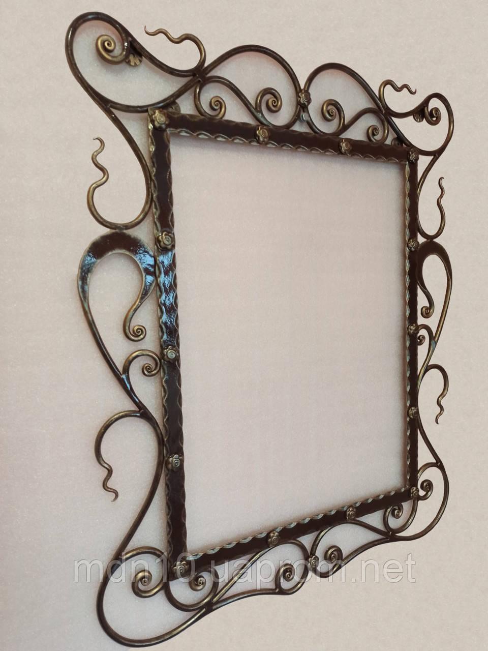Кованая рама зеркала  - 06