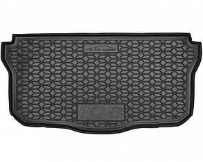 Авто килимок в багажник Peugeot / Пежо 108 2014+