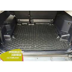Авто килимок в багажник Mitsubishi Pajero Wagon 3/4 99-/07-/Мітсубісі Паджеро Вагон