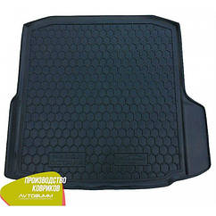 М'який поліуретановий килимок в багажник Skoda Octavia/Шкода Октавія A7 2013 - Liftback / Ліфтбек