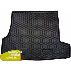 М'який поліуретановий килимок в багажник Skoda SuperB / Шкода Супер Б 2001-2008