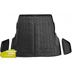Авто килимок в багажник Mercedes/Мерседес S (W222) 2013 - c регулюванням сидінь