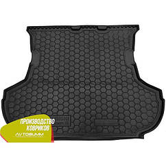 Авто килимок в багажник Mitsubishi Outlander XL 2007- (без сабвуфера)/Мітсубісі Аутлендер