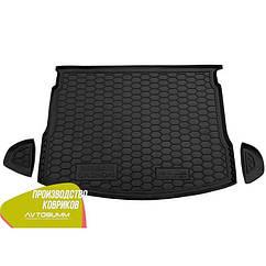 Авто килимок в багажник Nissan Qashqai 2007-2010/Ніссан Кашкай/Нісан