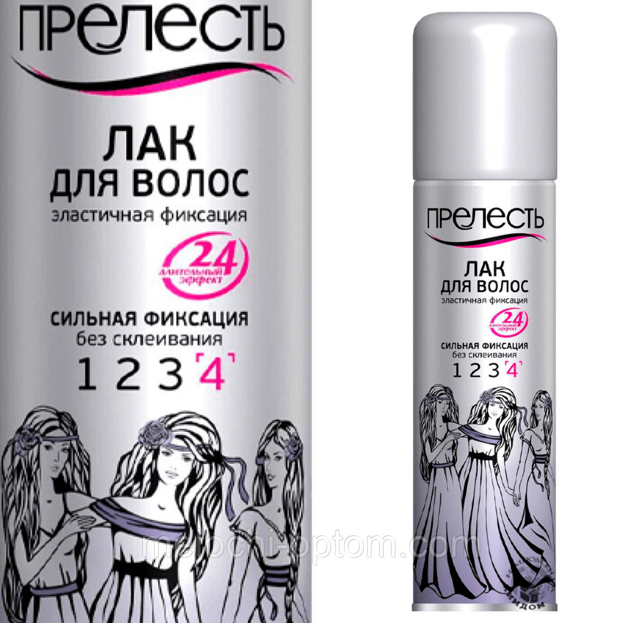 Лак для волос ПРЕЛЕСТЬ 160ml сильная фиксация