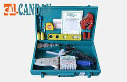 Паяльник для пластиковых труб Candan СМ-06-SET 1500W