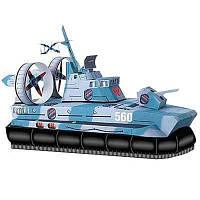 Сборная модель Умная бумага Катер на воздушной подушке серии Военная техники (27)