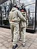 Мужской костюм family look с вышивкой на горловине. Размер: S ,М,  L. Разные цвета (4041), фото 4